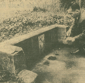 Chinese Shrine as it appeared in 1963